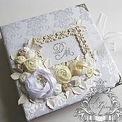 """Свадебный салон ручной работы. Ярмарка Мастеров - ручная работа Свадебный альбом """"Luxury flowers"""". Handmade."""
