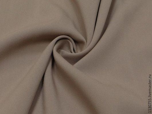 Шитье ручной работы. Ярмарка Мастеров - ручная работа. Купить ткань костюмная вискоза твил стрейч беж.. Handmade. Черный
