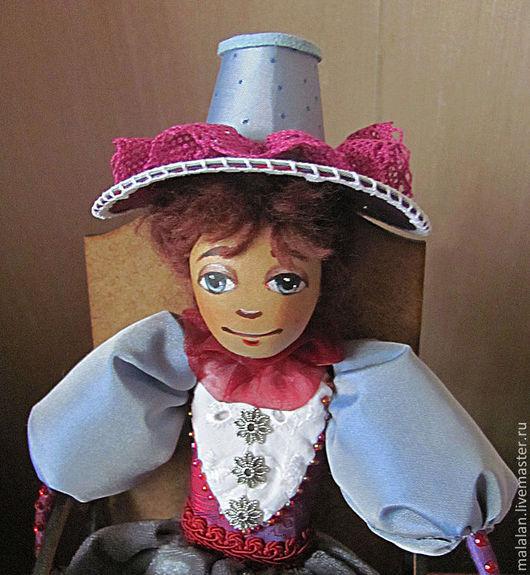 """Персональные подарки ручной работы. Ярмарка Мастеров - ручная работа. Купить сувенирная кукла""""Мамзелька"""". Handmade. Красивый подарок, интерьерная игрушка"""