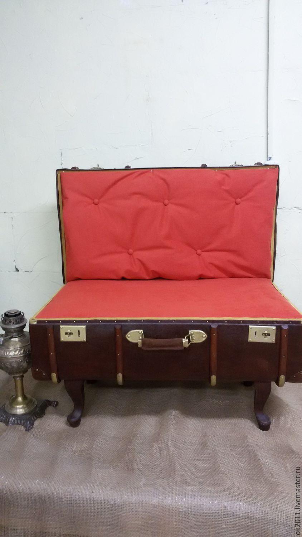 Банкетку чемодан