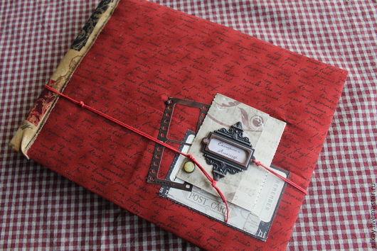 Фотоальбомы ручной работы. Ярмарка Мастеров - ручная работа. Купить Альбом для любимого.... Handmade. Бордовый, фотографии, Скрапбумага, картон