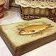Подарки для мужчин, ручной работы. Заказать Купюрница Радость рыбака. Василиса. Ярмарка Мастеров. Рыба, подарок, 23 февраля