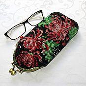 Сумки и аксессуары handmade. Livemaster - original item Eyeglass case beaded pencil case