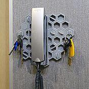 Ключницы ручной работы. Ярмарка Мастеров - ручная работа Настенная ключница из пластика. Handmade.