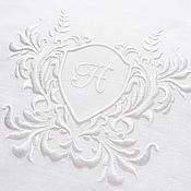 Свадебный салон handmade. Livemaster - original item Track with the volume embroidery