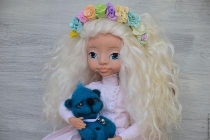 кукла своими руками, авторская работа, ручная работа, подарок