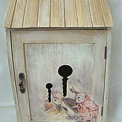 """Для дома и интерьера ручной работы. Ярмарка Мастеров - ручная работа Ключница """"Заячья нора"""". Handmade."""