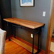 Для дома и интерьера ручной работы. Ярмарка Мастеров - ручная работа Консоль в стиле лофт. Handmade.