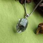 Фен-шуй и эзотерика handmade. Livemaster - original item Pendant with herkimers diamond with phantom.Your booking. Handmade.