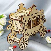 Материалы для творчества handmade. Livemaster - original item The carriage is a fabulous blank for creativity. Handmade.