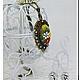 """Кулоны, подвески ручной работы. Подвеска-кулон """"Весна"""". Юлия Фисун (julia-fisun). Интернет-магазин Ярмарка Мастеров. Филигрань"""