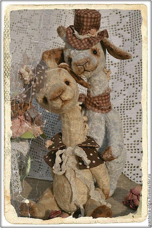 Мишки Тедди ручной работы. Ярмарка Мастеров - ручная работа. Купить Мелодия любви. Handmade. Бежевый, коллекционные медведи, тедди