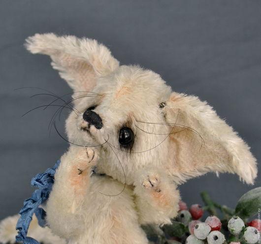 Мишки Тедди ручной работы. Ярмарка Мастеров - ручная работа. Купить Лисёнок Тедди Флип. Handmade. Белый, лисенок игрушка