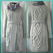 Одежда handmade. Livemaster - original item Coat knitting Nora. Handmade.