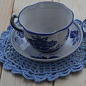 Для дома и интерьера handmade. Livemaster - original item Set of knitted napkins
