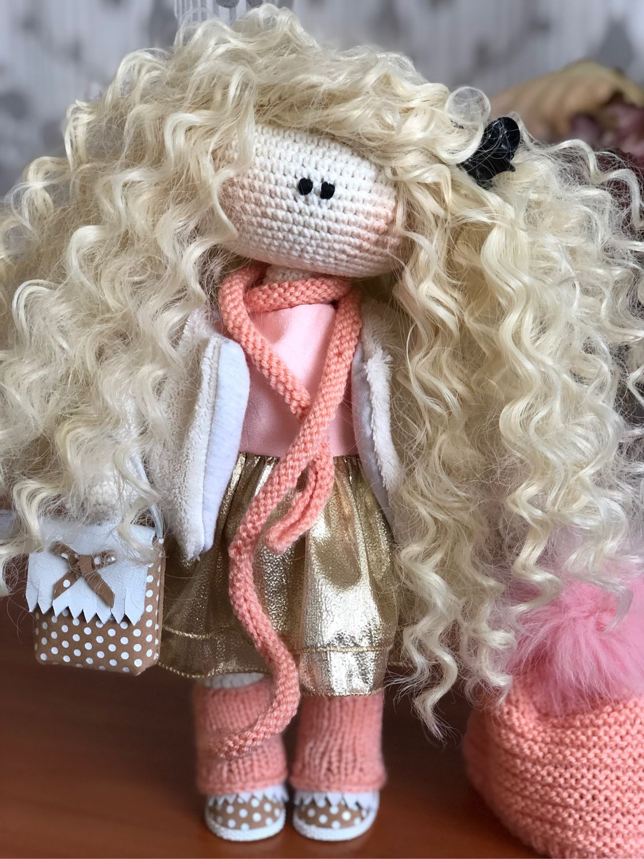 Интерьерная кукла, Куклы Тильда, Кавалерово,  Фото №1