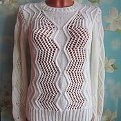 Одежда handmade. Livemaster - original item Sweater Central pattern.. Handmade.