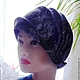 """Шляпы ручной работы. Ярмарка Мастеров - ручная работа. Купить Шляпка """"Кassia"""". Handmade. Чёрно-белый, шляпка ручной работы"""