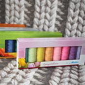 Материалы для творчества handmade. Livemaster - original item Kits with threads Seralon. Handmade.