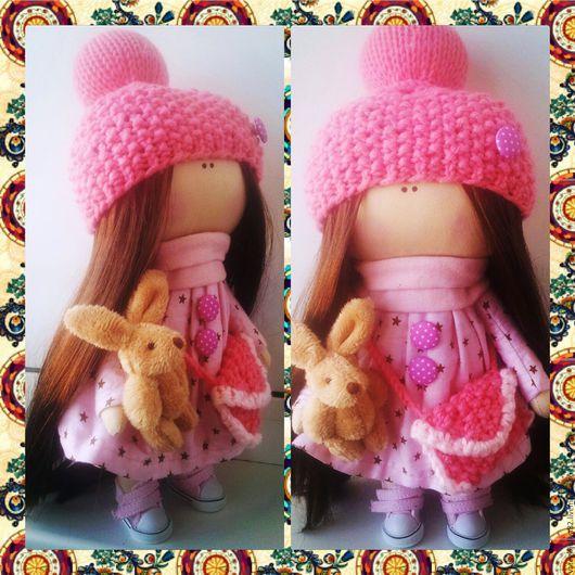 Куклы Тильды ручной работы. Ярмарка Мастеров - ручная работа. Купить Интерьерная кукла. Handmade. Розовый, кукла ручной работы