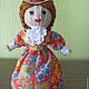 Коллекционные куклы ручной работы. Ярмарка Мастеров - ручная работа. Купить кукла барышня. Handmade. Интерьерная кукла, в подарок, картон