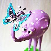 """Для дома и интерьера ручной работы. Ярмарка Мастеров - ручная работа интерьерный """"Розовый слон"""". Handmade."""