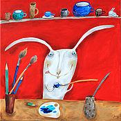 """Картины ручной работы. Ярмарка Мастеров - ручная работа Картина """"Творец"""". Handmade."""