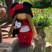Тыквоголовка ручной работы. Ярмарка Мастеров - ручная работа Текстильная кукла ручной работы. Кукла интерьерная.Тыквоголовка. Handmade.