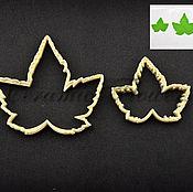 Материалы для творчества handmade. Livemaster - original item A set of cutters currant leaves (small and large), plastic. Handmade.