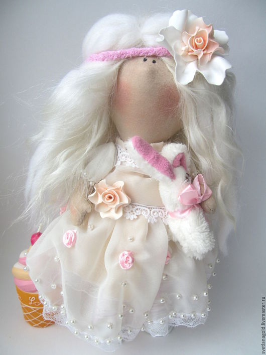 Коллекционные куклы ручной работы. Ярмарка Мастеров - ручная работа. Купить Куколка Нежная Зефирка. Handmade. Куколка, нежная кукла