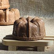 Косметика ручной работы. Ярмарка Мастеров - ручная работа Шоколадное мыло Дежавю на молоке, натуральное, с нуля. Handmade.