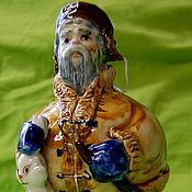 Сувениры и подарки handmade. Livemaster - original item Grandfather Mazai and hares. Handmade.
