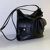 Сумки и аксессуары handmade. Livemaster - original item Leather bag 202. Handmade.