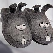 Обувь ручной работы. Ярмарка Мастеров - ручная работа Тапко-зайцы .. Handmade.