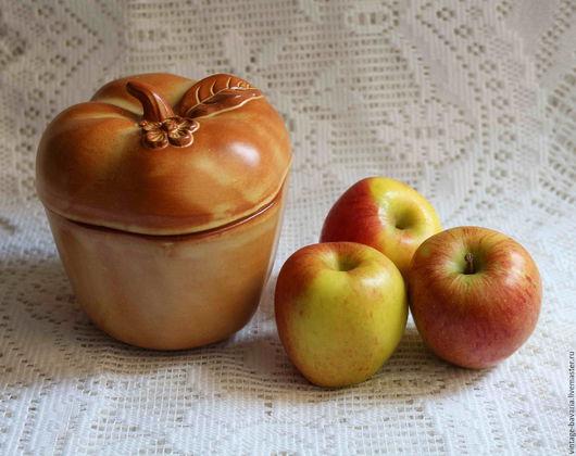 Винтажная посуда. Ярмарка Мастеров - ручная работа. Купить Аппетитная форма для запекания «Яблоко», Германия. Handmade. Рыжий, форма для выпекания