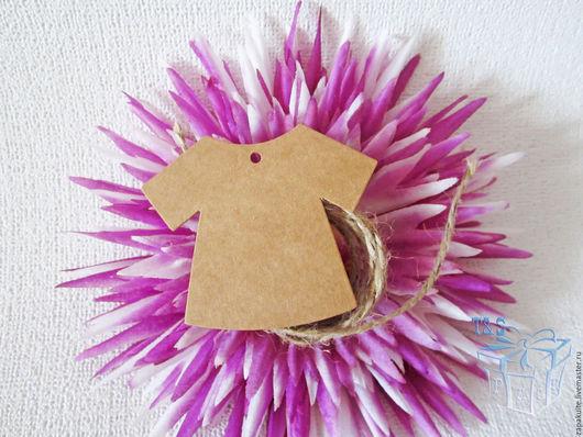 Упаковка ручной работы. Ярмарка Мастеров - ручная работа. Купить Бирки 5х5,5 см крафт, картон, для одежды, бирка, платье, упаковка. Handmade.
