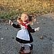 Коллекционные куклы ручной работы. Перемена. Елена (handmade mrs.Mouse). Интернет-магазин Ярмарка Мастеров. Школьница кукла, ретро
