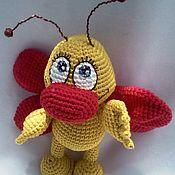 Куклы и игрушки ручной работы. Ярмарка Мастеров - ручная работа Бабочка - козявочка. Handmade.