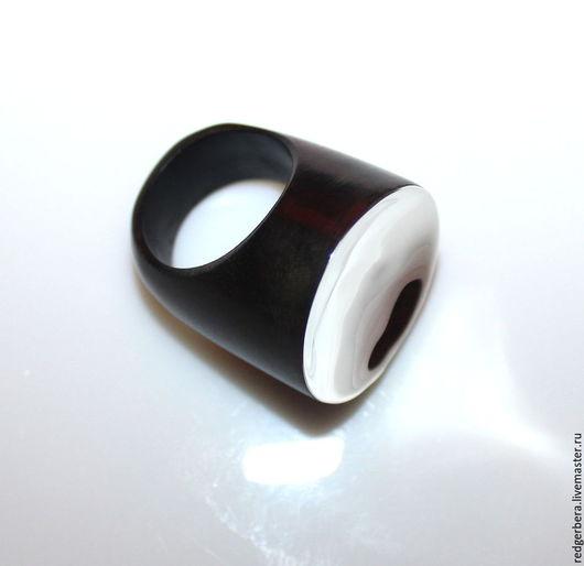 Кольца ручной работы. Ярмарка Мастеров - ручная работа. Купить Кольцо из серебра и натурального дерева. Handmade. Серебряное кольцо