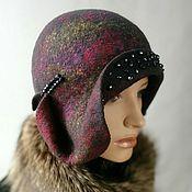 Аксессуары handmade. Livemaster - original item Hat Russian seasons. Handmade.
