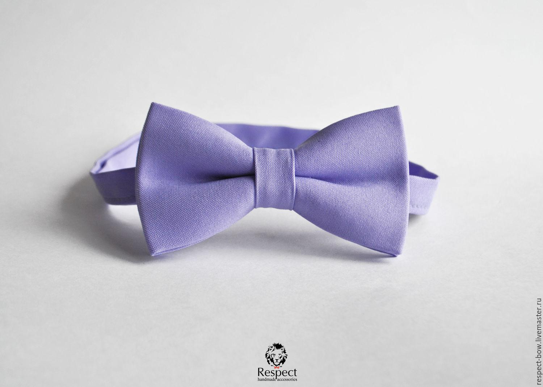 Tie Lilac honey / lilac wedding, groom's bowtie, Butterflies, Moscow,  Фото №1