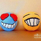 Куклы и игрушки ручной работы. Ярмарка Мастеров - ручная работа Игрушки Смайлики.. Handmade.