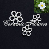 Материалы для творчества handmade. Livemaster - original item A set of cutters flowers strawberry,strawberry, plastic. Handmade.