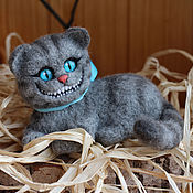 Куклы и игрушки handmade. Livemaster - original item Cheshire cat lying. Handmade.