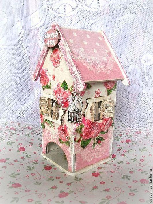 """Кухня ручной работы. Ярмарка Мастеров - ручная работа. Купить чайный домик """"""""Милый дом"""". Handmade. Розовый, чайный домик"""