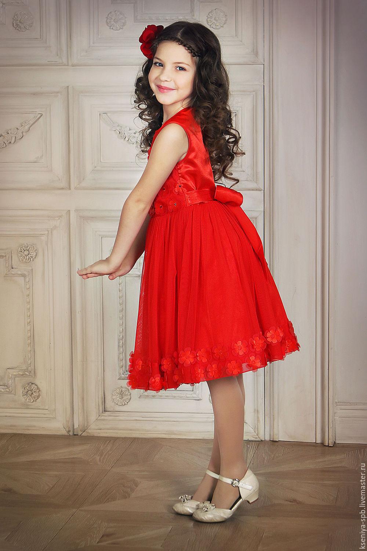 Красные платья нарядные купить