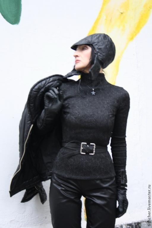 """Верхняя одежда ручной работы. Ярмарка Мастеров - ручная работа. Купить Куртка стеганая и шлем """"В рок стиле"""". Handmade."""