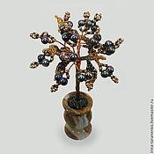 Цветы и флористика handmade. Livemaster - original item A miniature tree of the black pearl