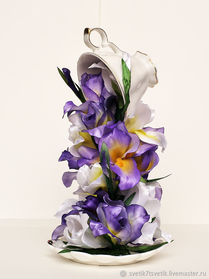 """Cup in air сalled """"Irises"""", Composition, Kurgan,  Фото №1"""