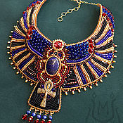 Украшения handmade. Livemaster - original item Egyptian Lapis Lazuli Necklace. Handmade.